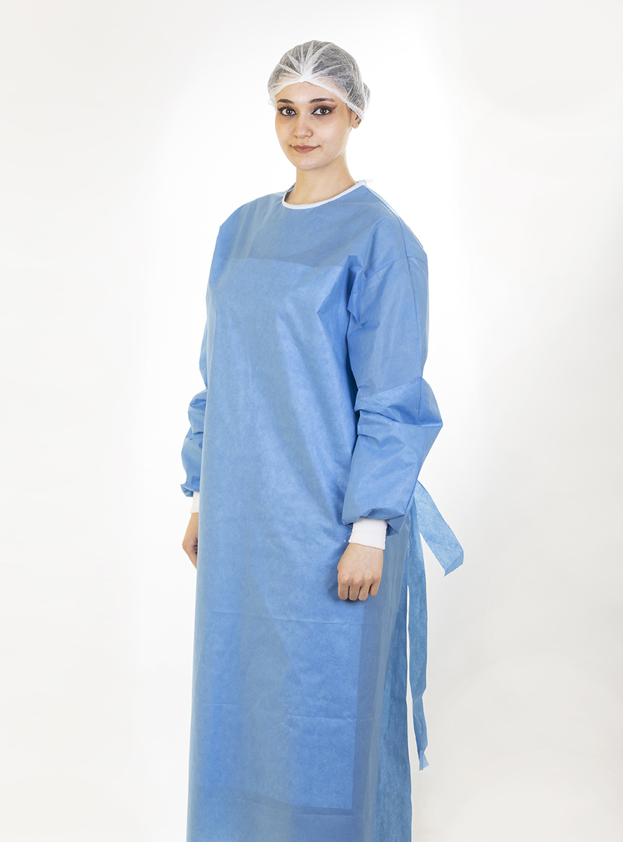 Non-Sterile Reinforced Surgical Gown